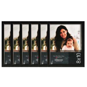 Pinnacle 6-Opening 8 inch x 10 inch Picture Frame by Pinnacle