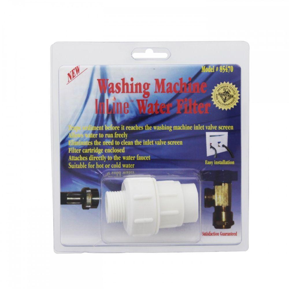 85470Washing Machine Inline Water Filter
