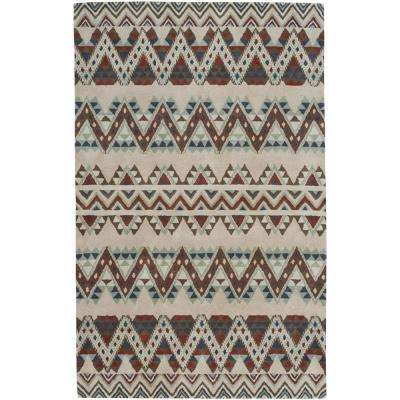 Fort Apache Fawn 5 ft. x 8 ft. Area Rug
