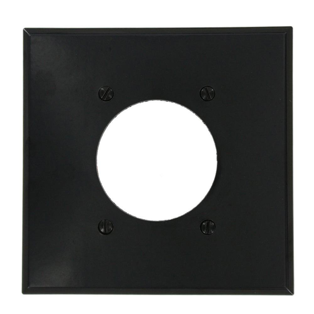 2-Gang Standard Size with 2.15 in. Dia Hole in Plastic Power