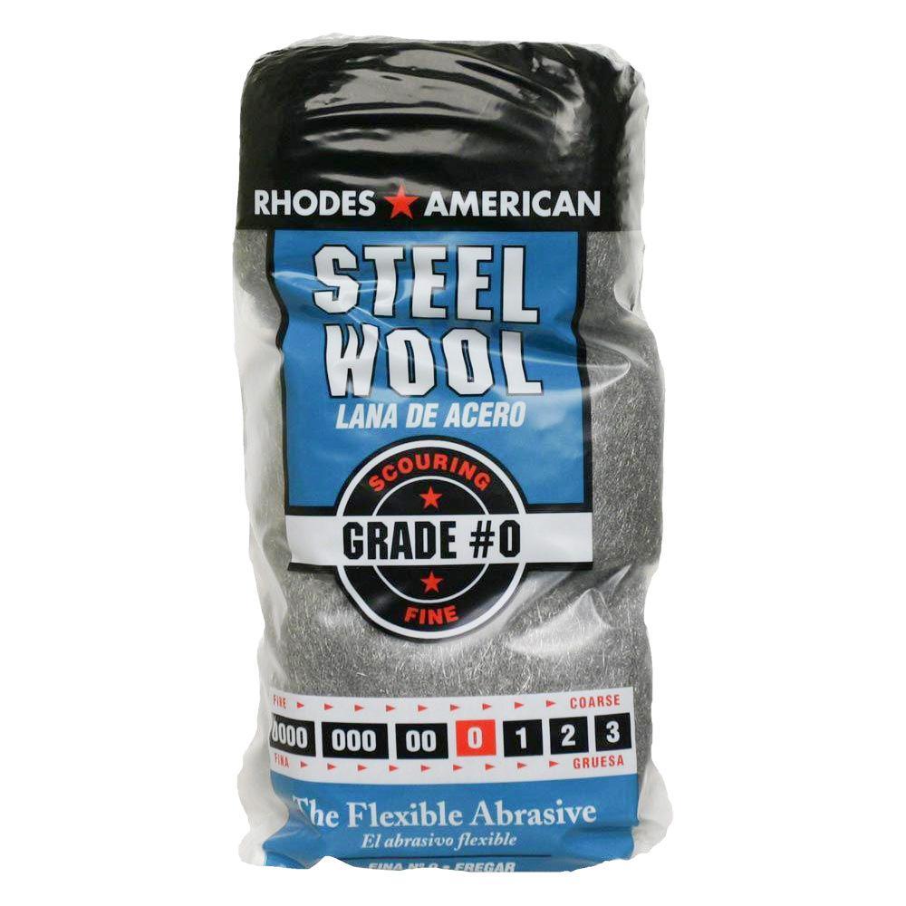 Homax 10121000#3//0 12 Pad Steel Wool Extra Fine Grade