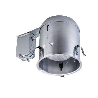 6 in. Aluminum Recessed IC Remodel Housing