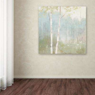 """35 in. x 35 in. """"Spring Fling I Cool"""" by Julia Purinton Printed Canvas Wall Art"""