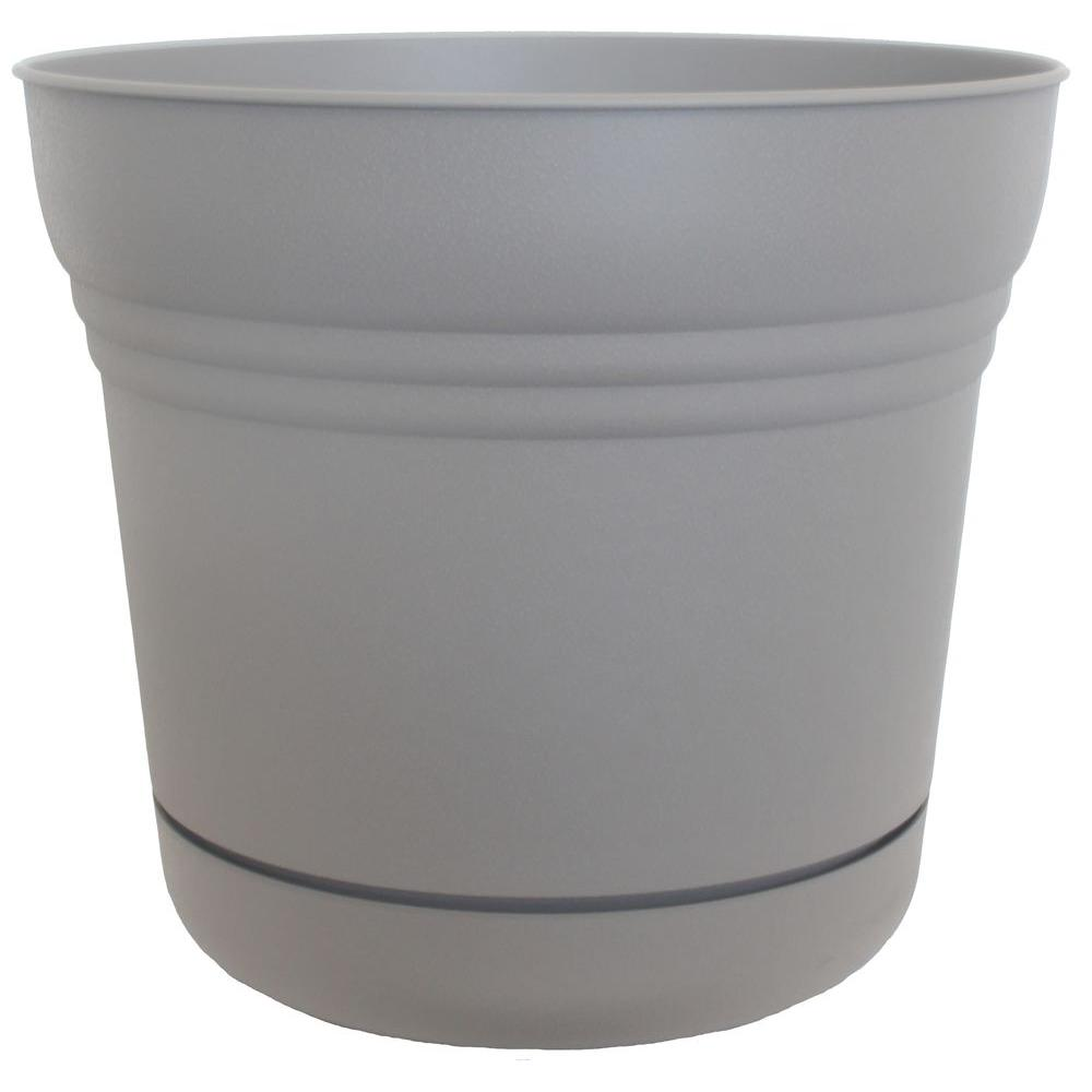 Bloem 7 in. Plastic Maximal Saturn Planter (12-Pack)