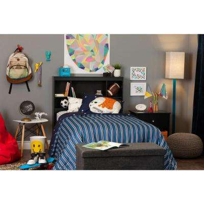kids black bedroom furniture. Fine Kids Vito Pure Black Twin Kids Headboard For Bedroom Furniture I