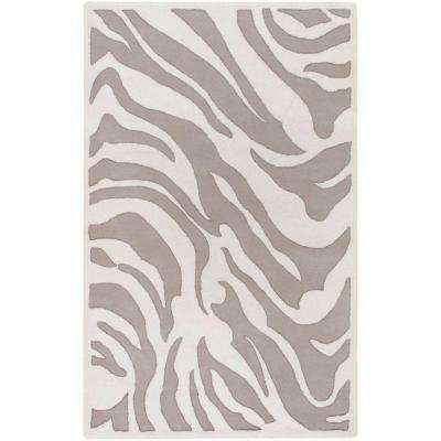 B. Smith White 9 ft. x 13 ft. Transitional Area Rug