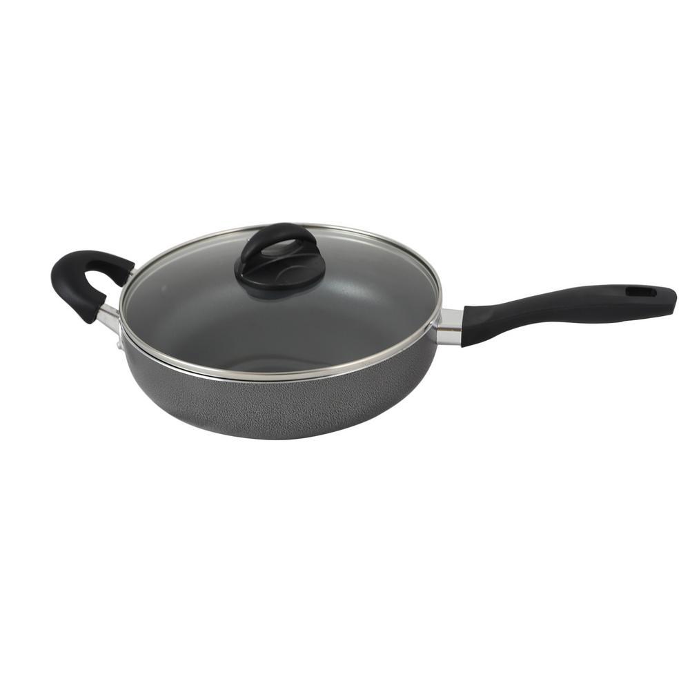Clairborne 3 Qt. Aluminum Saute Pan with Lid