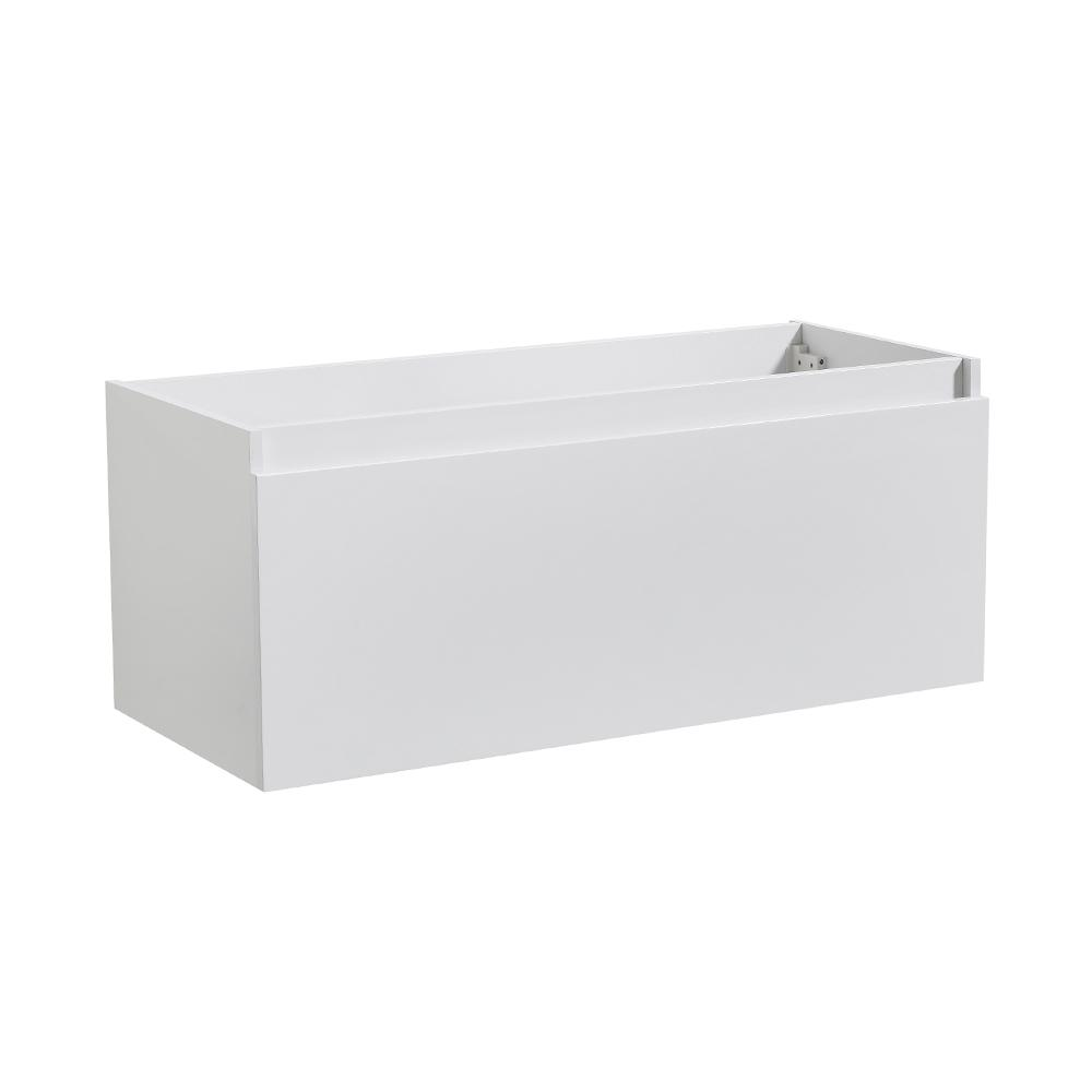 Fresca Mezzo 47 In Modern Wall Hung Bath Vanity Cabinet Only In Gray Oak Fcb8011go Vanities The Fresca Mezzo Line Features A Rectangular Wall