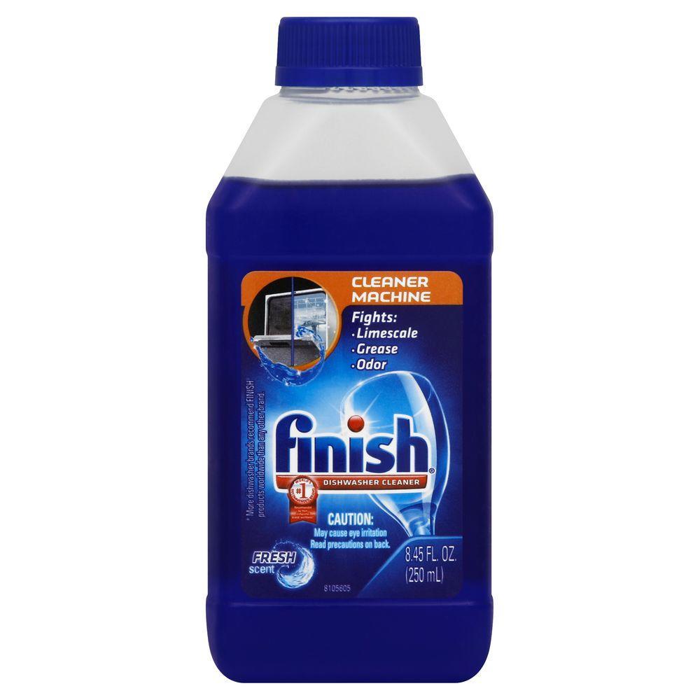finish dishwasher cleaner how to use