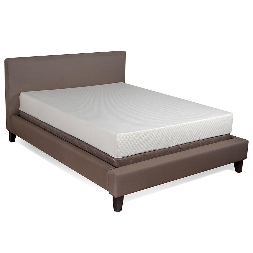Serenia Sleep Twin Size 7 In Basic Memory Foam Mattress