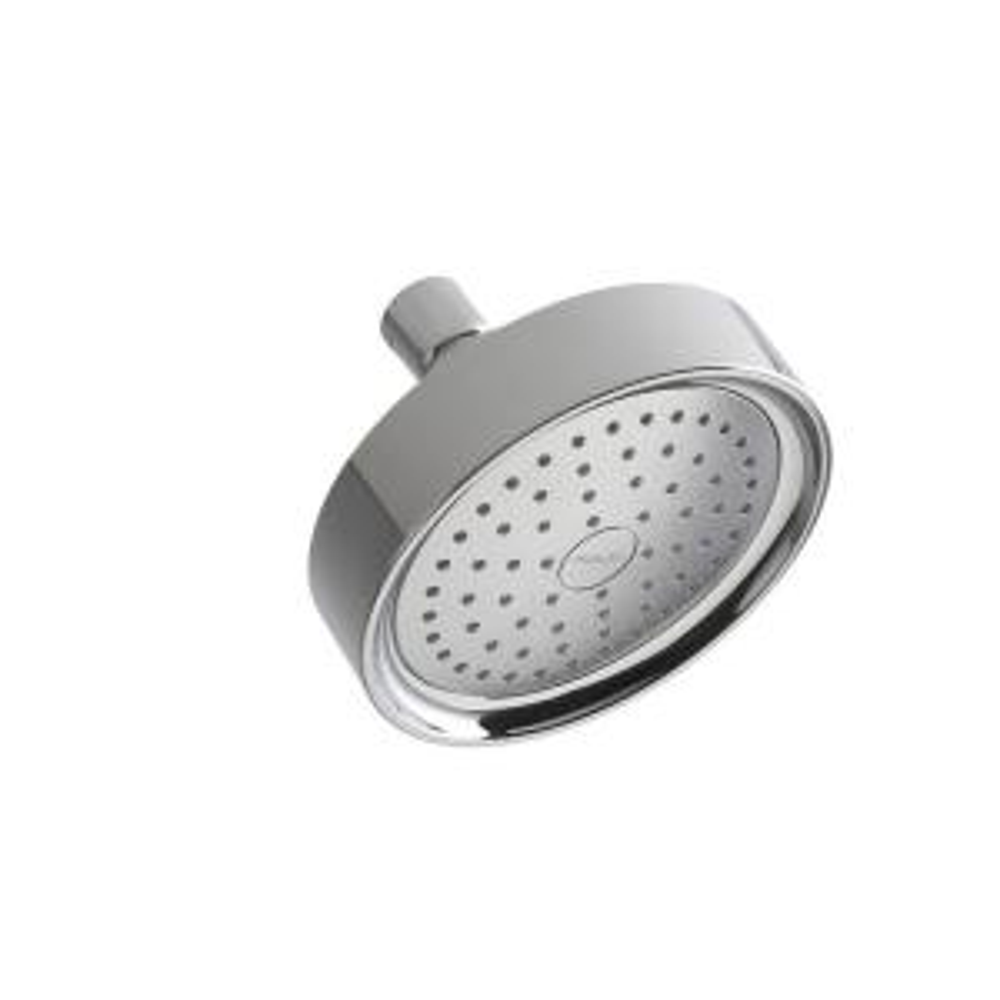 Kohler Purist Katalyst 1-spray Single Function 5 1/2 inch Fixed Shower Head in Polished Chrome by KOHLER
