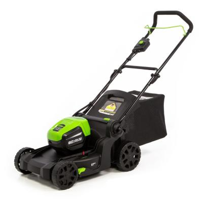 PRO 17 in. 60-Volt Lithium-Ion Cordless Battery Walk Behind Mower (Tool-Only)