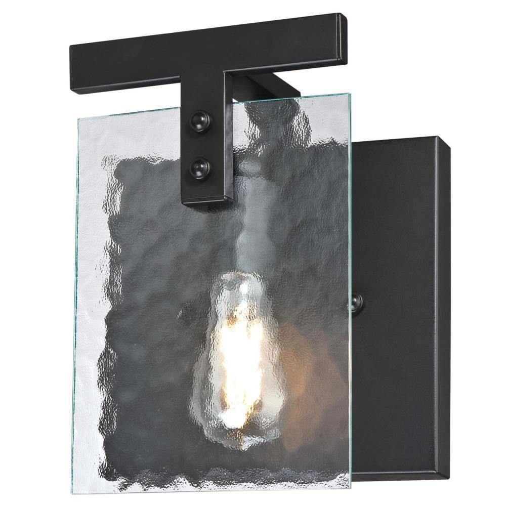 Westinghouse Zane 1-Light Matte Black Wall Mount Sconce