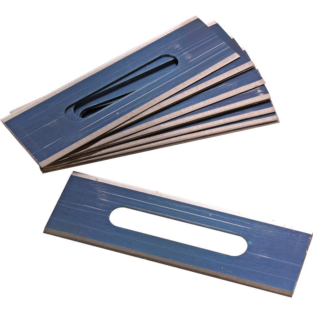 Pro Square-End Carpet Blades (100-Pack)