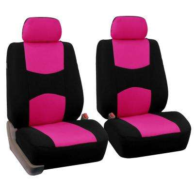 Flat Cloth 47 in. x 23 in. x 1 in. Half Set Front Seat Covers