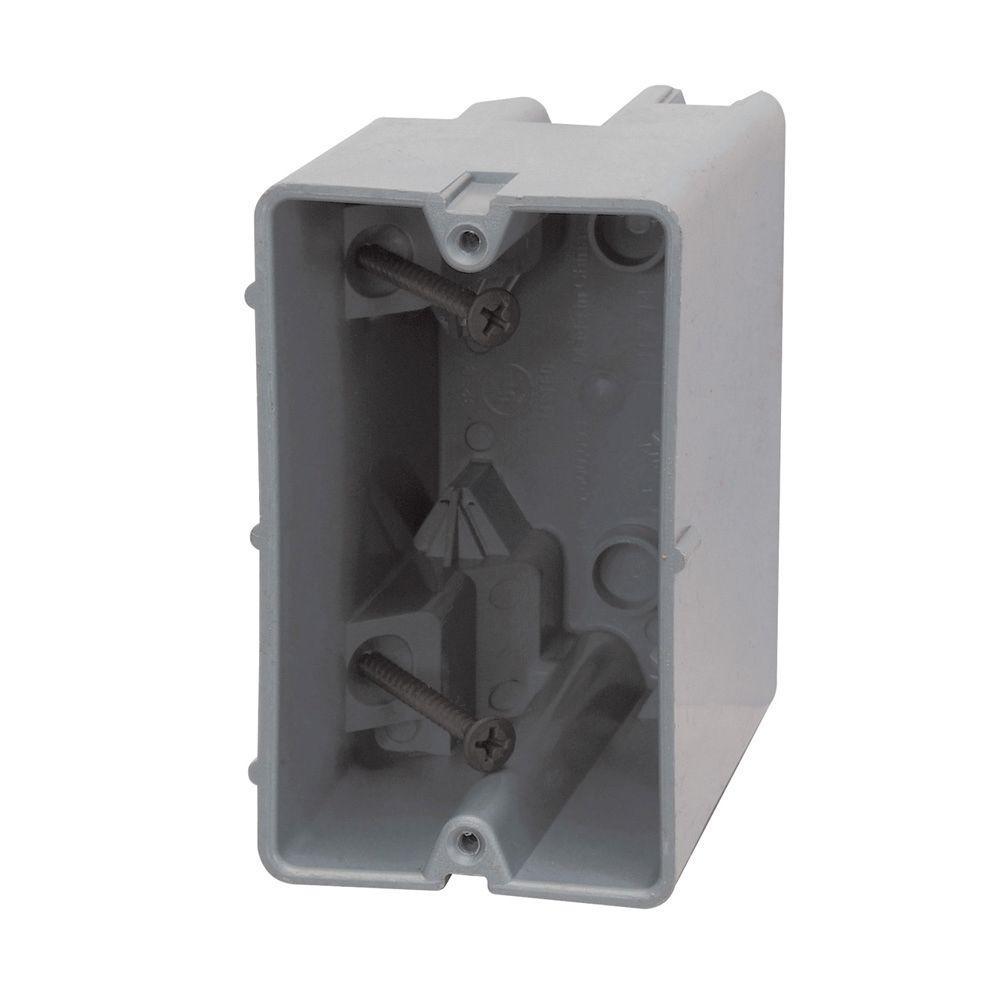 Smart Box 1-Gang 22.5/c Adjustable Depth Device Box