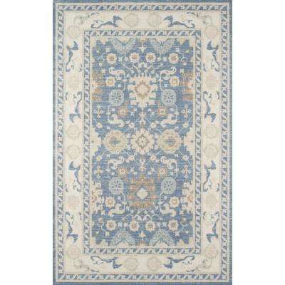 Anatolia ANA-7 Light Blue 8 ft. x 10 ft. Area Rug