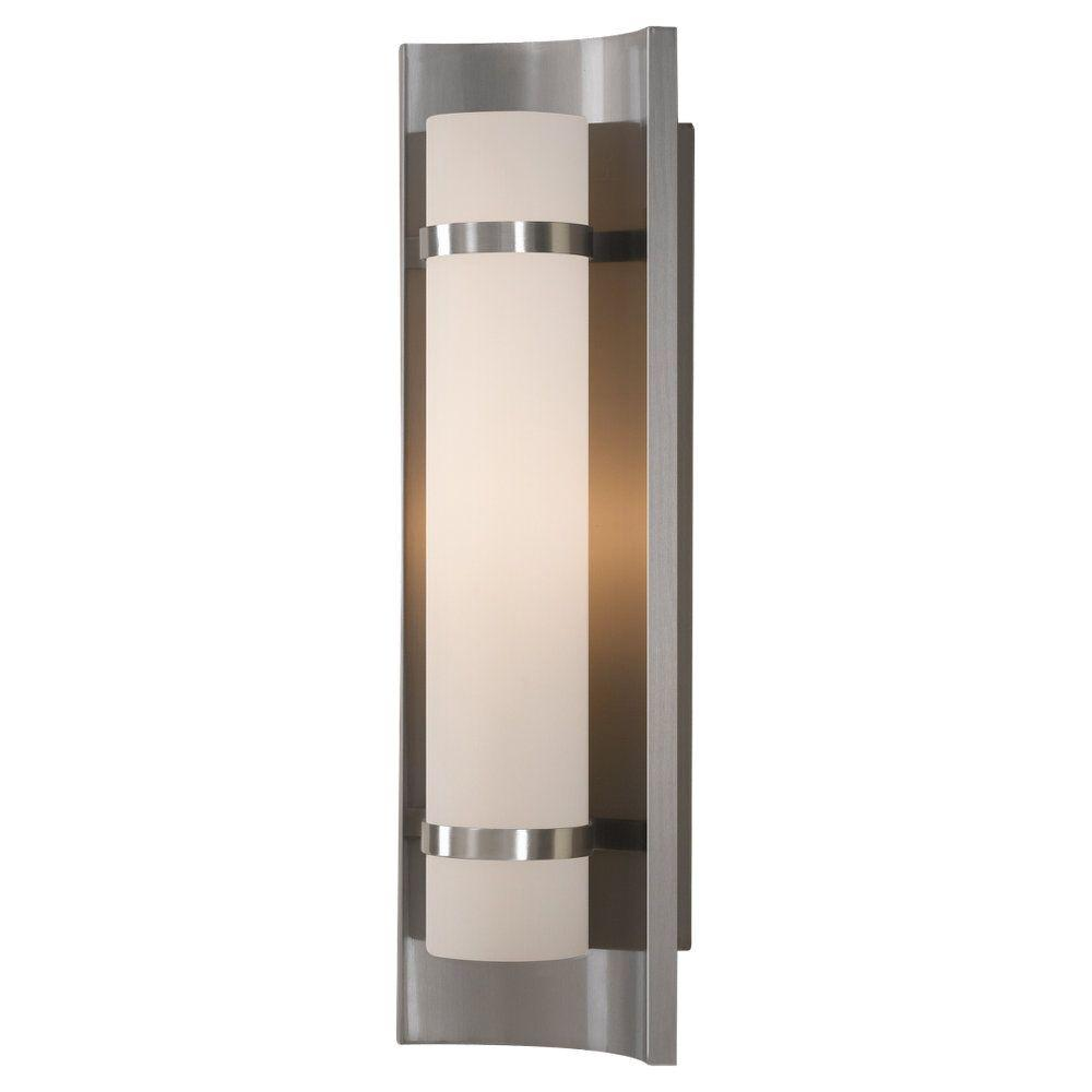 Feiss Colin 1-Light Brushed Steel Sconce