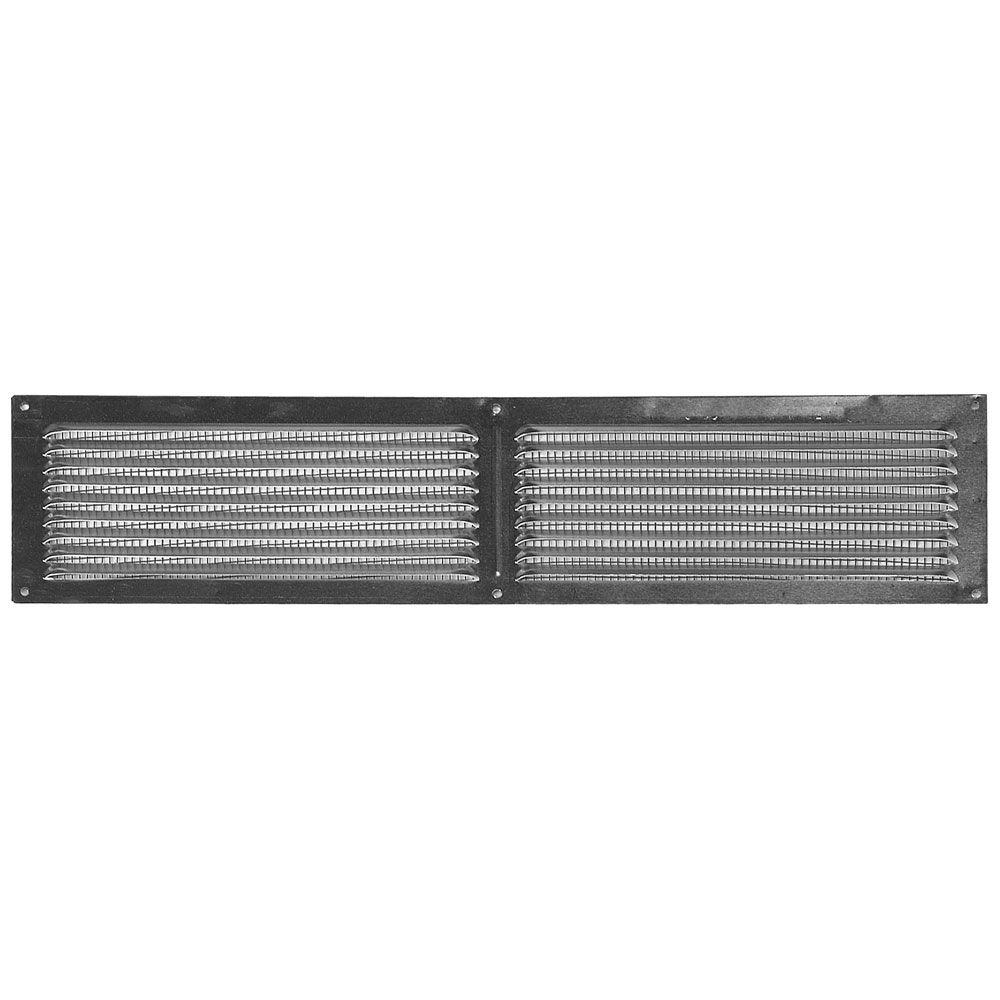 4 in. x 16 in. Steel Face-On Vent