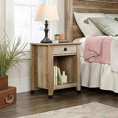 Carson Forge 1-Drawer Lintel Oak Nightstand