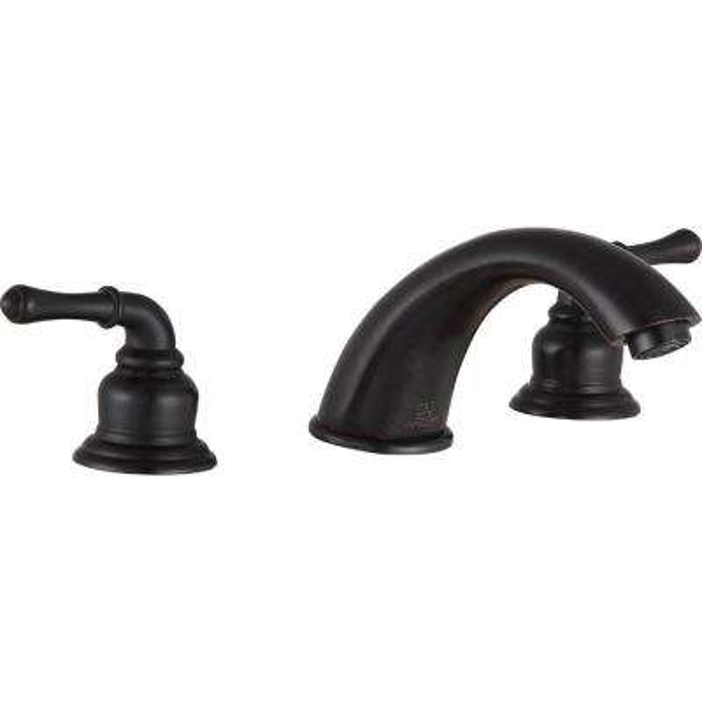 Princess 8 in. Widespread 2-Handle Bathroom Faucet in Oil Rubbed Bronze
