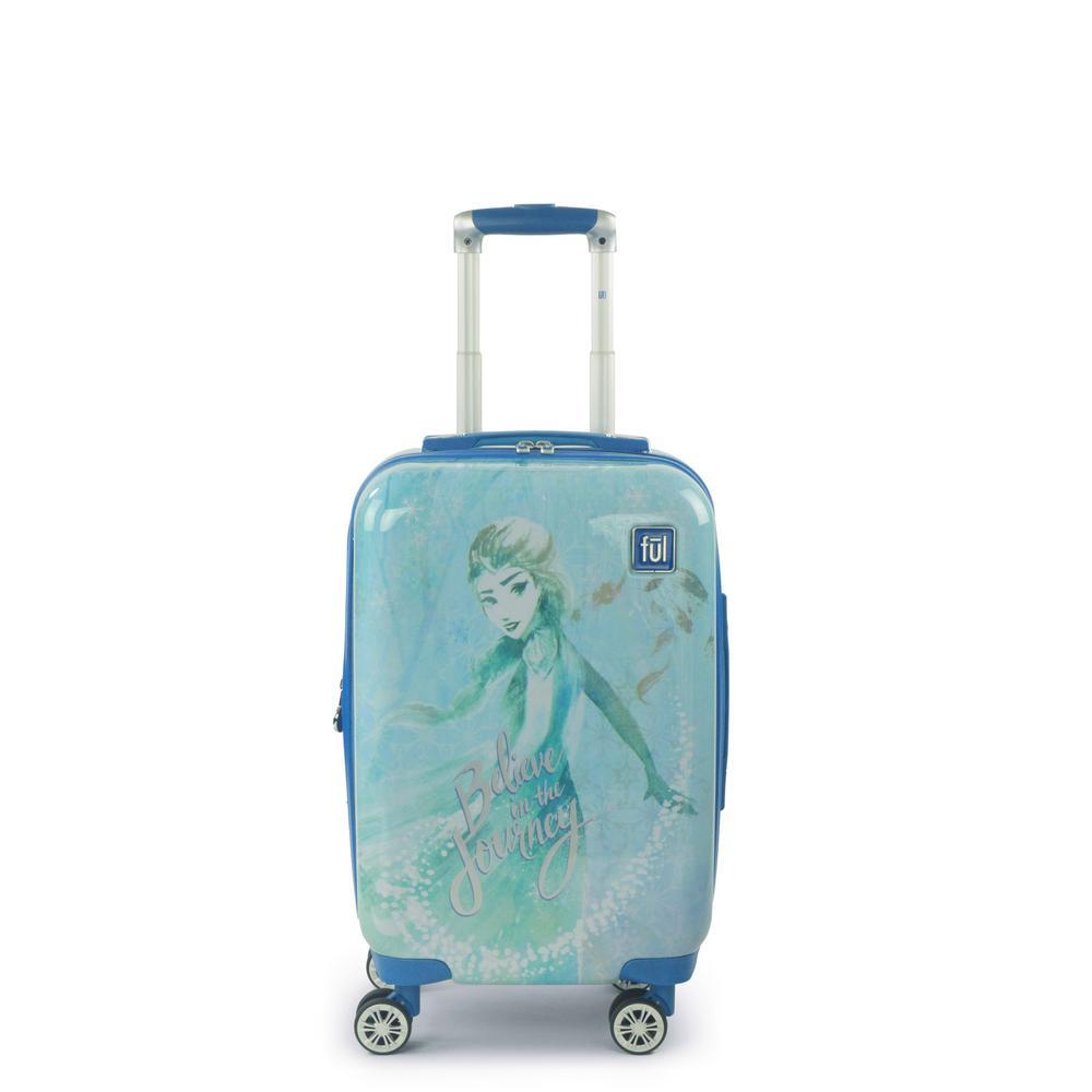 Disney Frozen 2 Elsa Believe in the Journey 21 in. Luggage Spinner