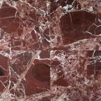 Rosso Levanto 12 in.x 12 in. Polished Marble Floor and Wall Tile (10 sq. ft./case)