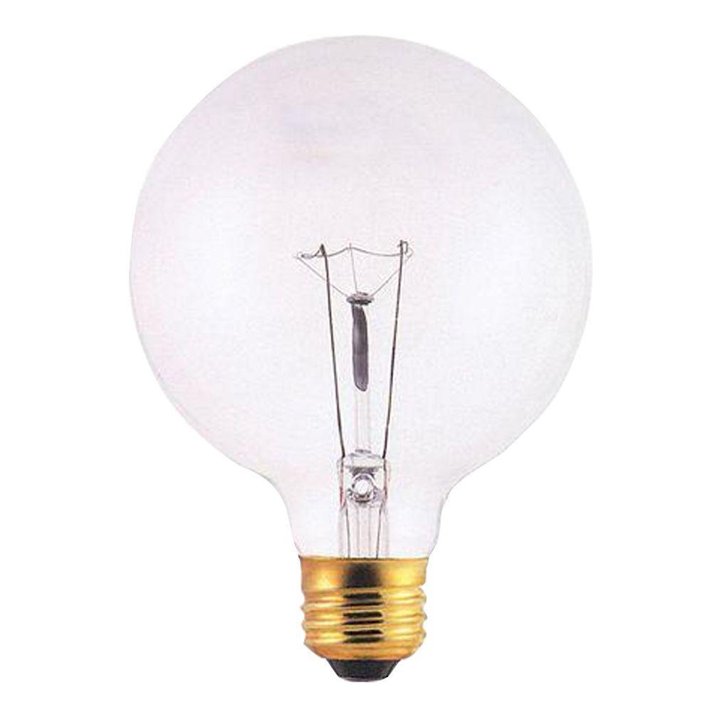 Bulbrite 60-Watt Incandescent G25 Light Bulb (15-Pack)