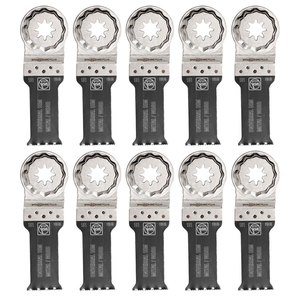 1-1/8 in. E-Cut Universal Saw Blade Starlock Plus (10-Pack)