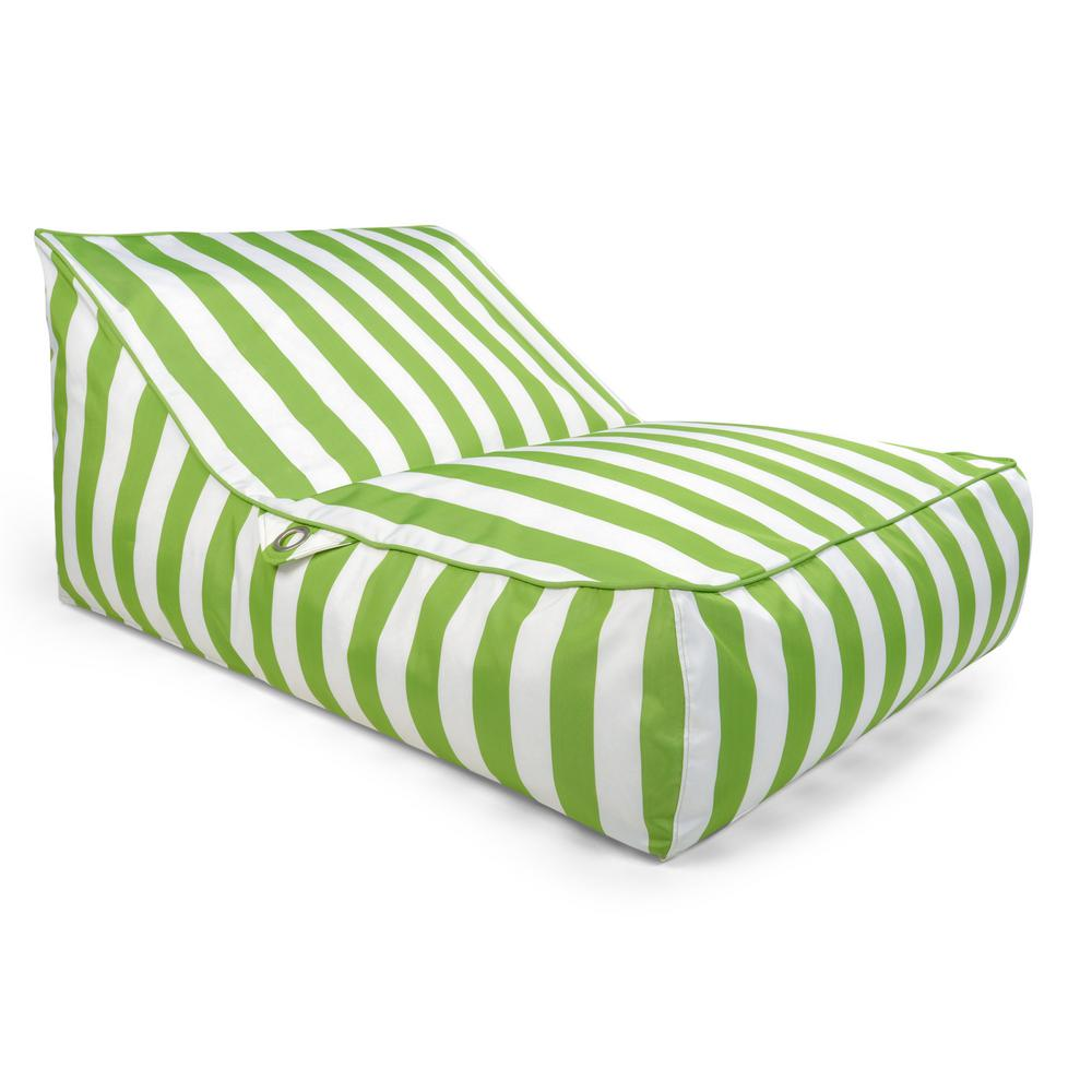 Swell Drift Escape Stratus Sofa Bean Bag Swimming Pool Float In Green Striped Nylon Fabric Caraccident5 Cool Chair Designs And Ideas Caraccident5Info