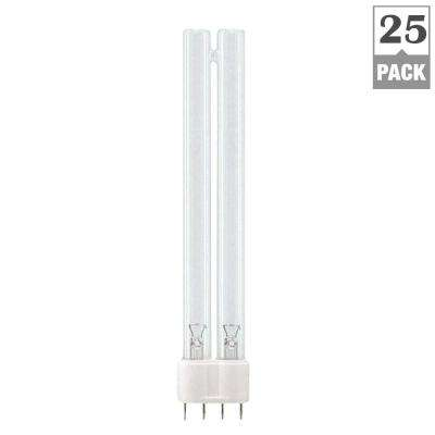 60-Watt PL-L 4-Pin (2G11) TUV Germicidal Light Bulb (25-Pack)