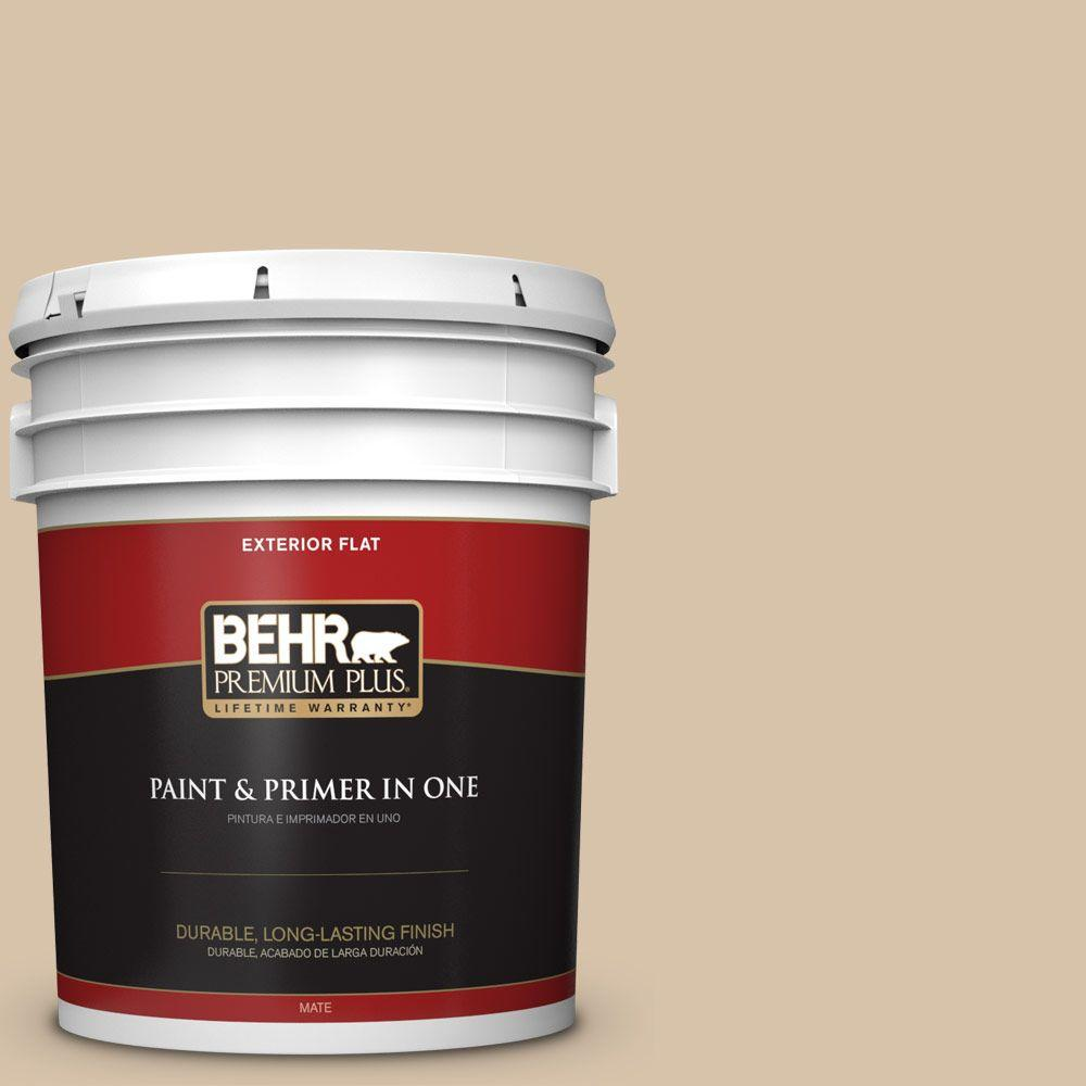 BEHR Premium Plus 5-gal. #T14-13 Grand Soiree Flat Exterior Paint