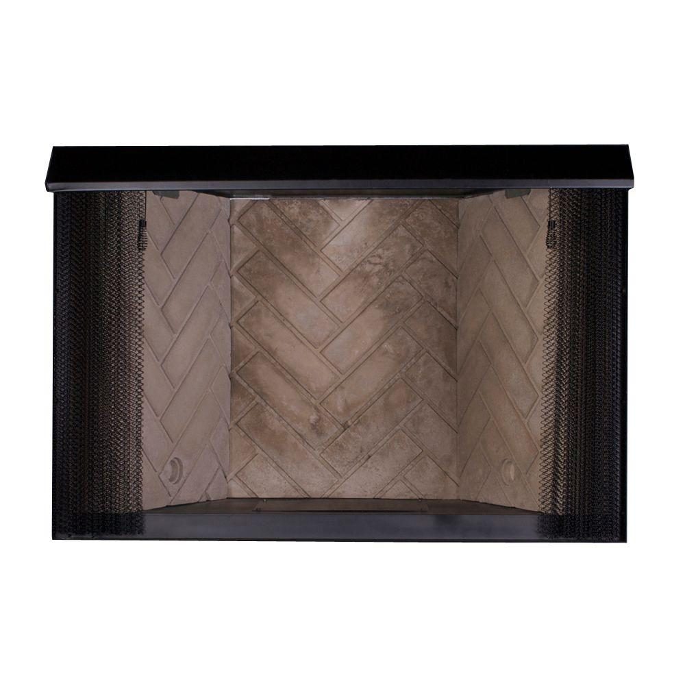 Emberglow 32 In Vent Free Gas Fireplace Insert Vfb32 The Home Depot