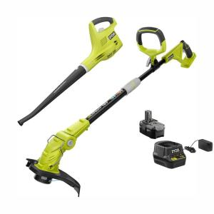 Ryobi ONE+ 18-Volt Trimmer/Edger and Blower/Sweeper Combo Kit Deals