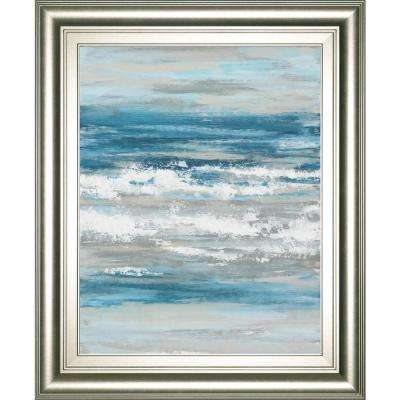 """22 in. x 26 in. """"At the Shore 1"""" by Rita Vindedzis Framed Printed Wall Art"""