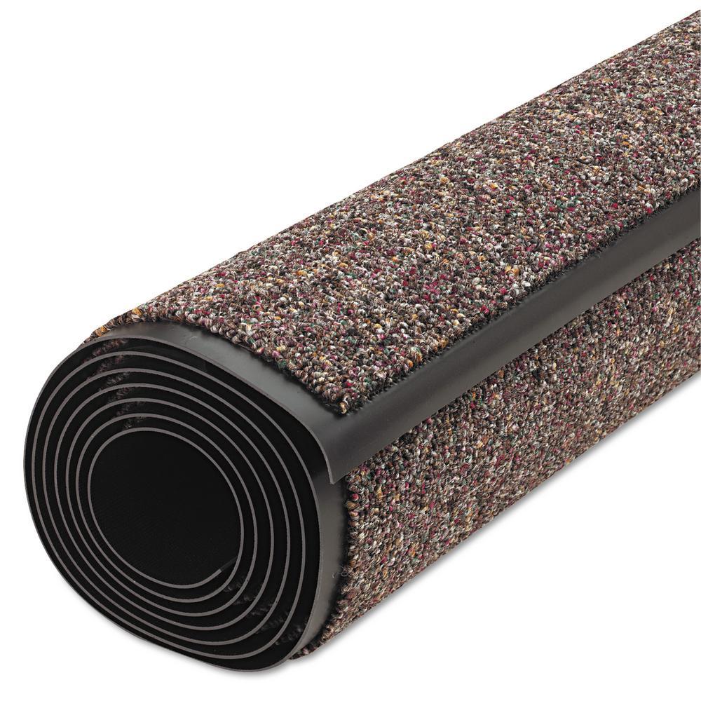 Classic Berber Brown 36 in. x 120 in. Nylon/Olefin Wiper Commercial Floor Mat