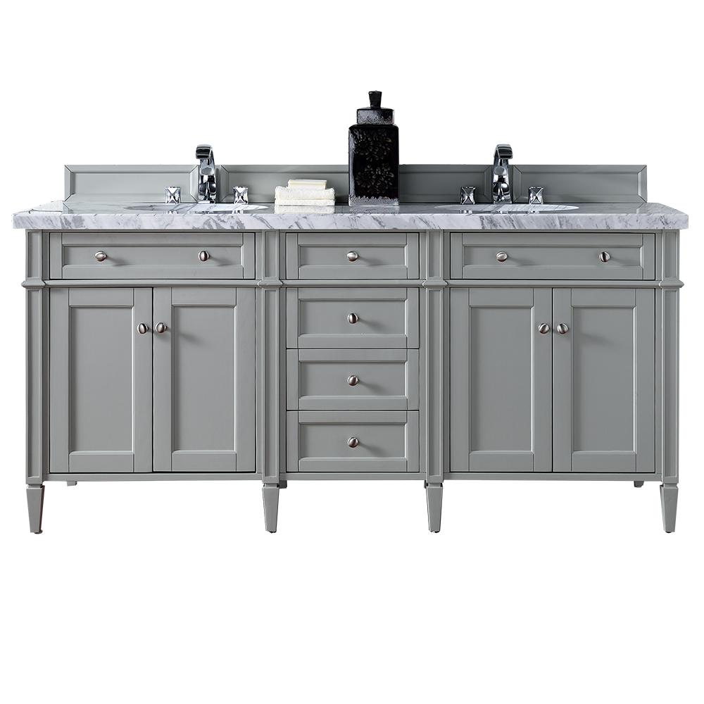 James Martin Signature Vanities Brittany 72 In W Double