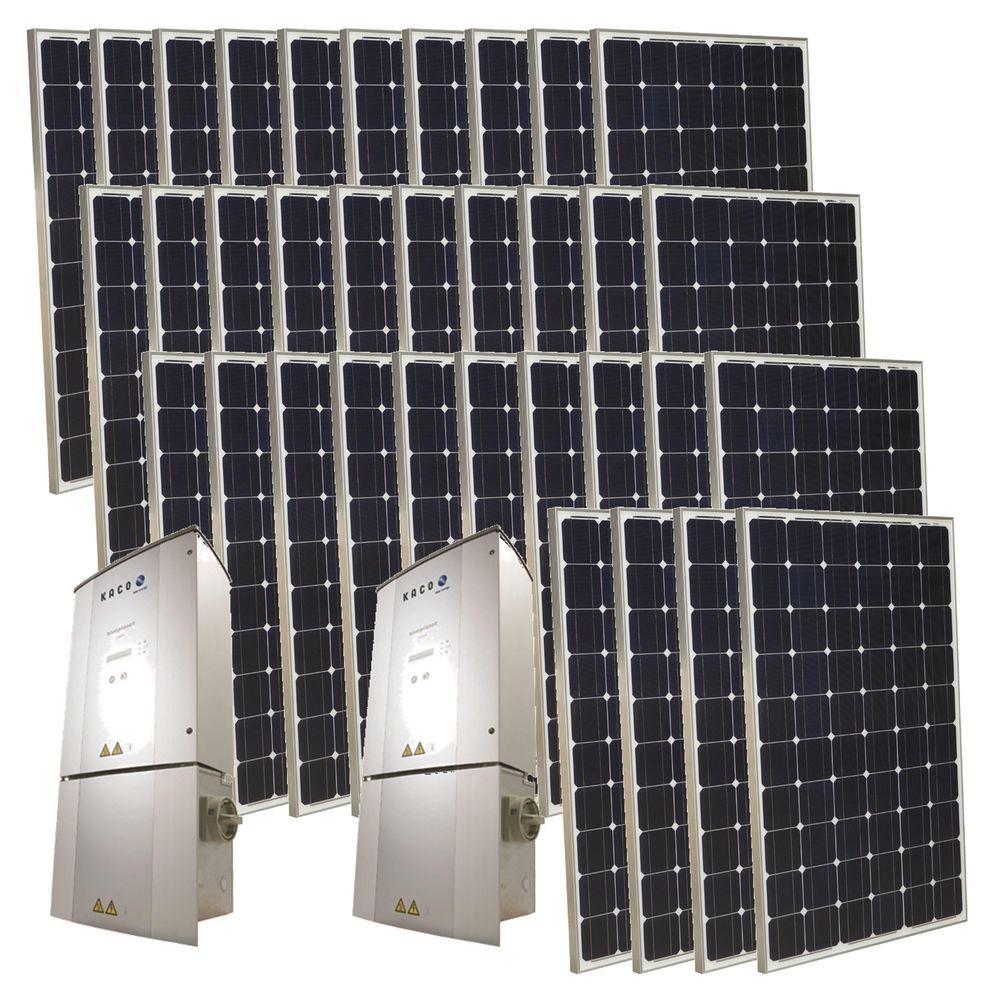 Grape Solar 8,500-Watt Monocrystalline PV Grid-Tied Solar Power Kit-DISCONTINUED