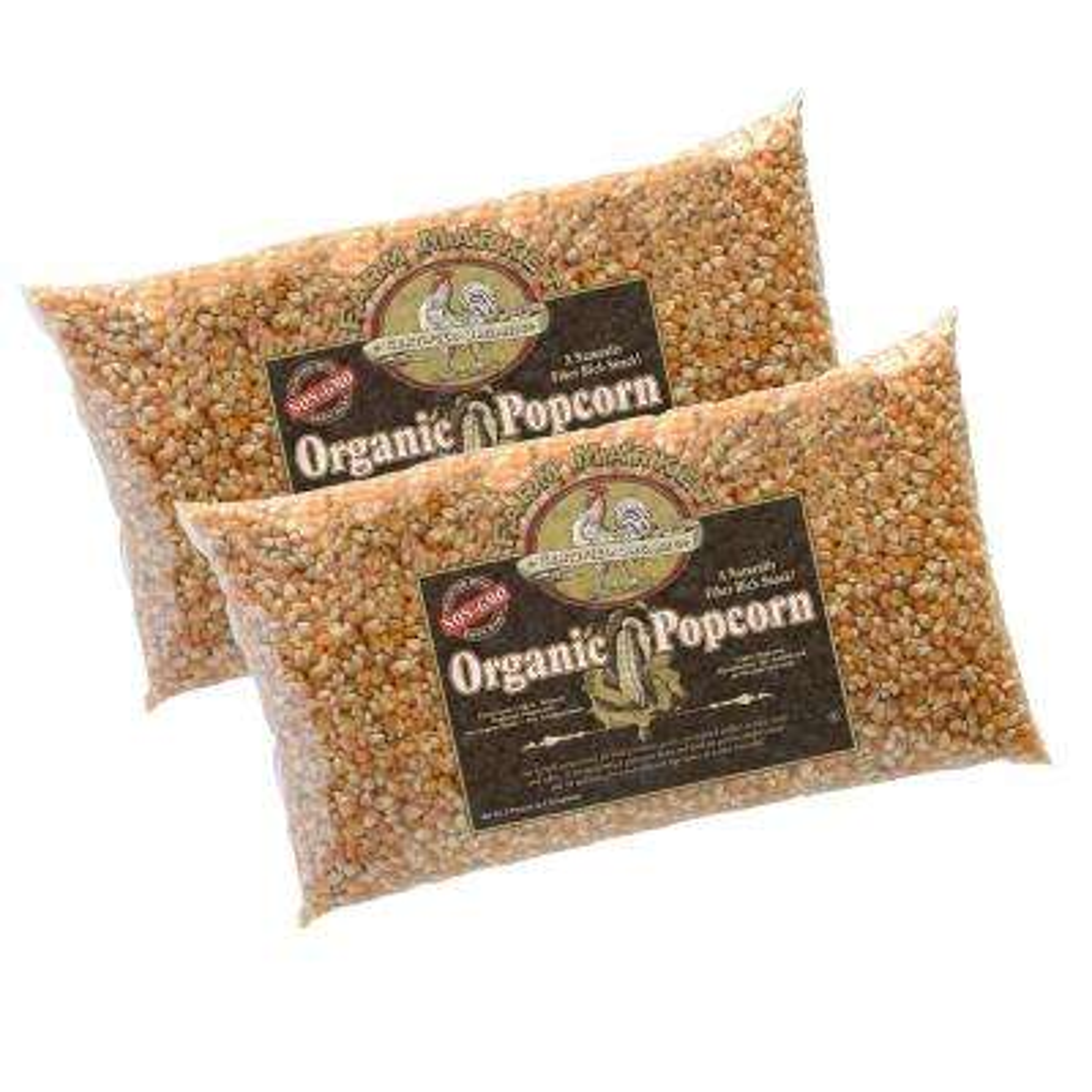 80 oz. Organic Gourmet Popcorn Bag (2-Pack)
