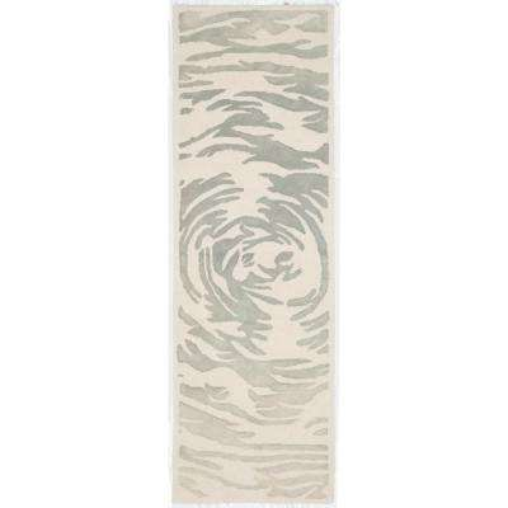 Bella Ivory/Gray 2 ft. x 7 ft. Runner Rug