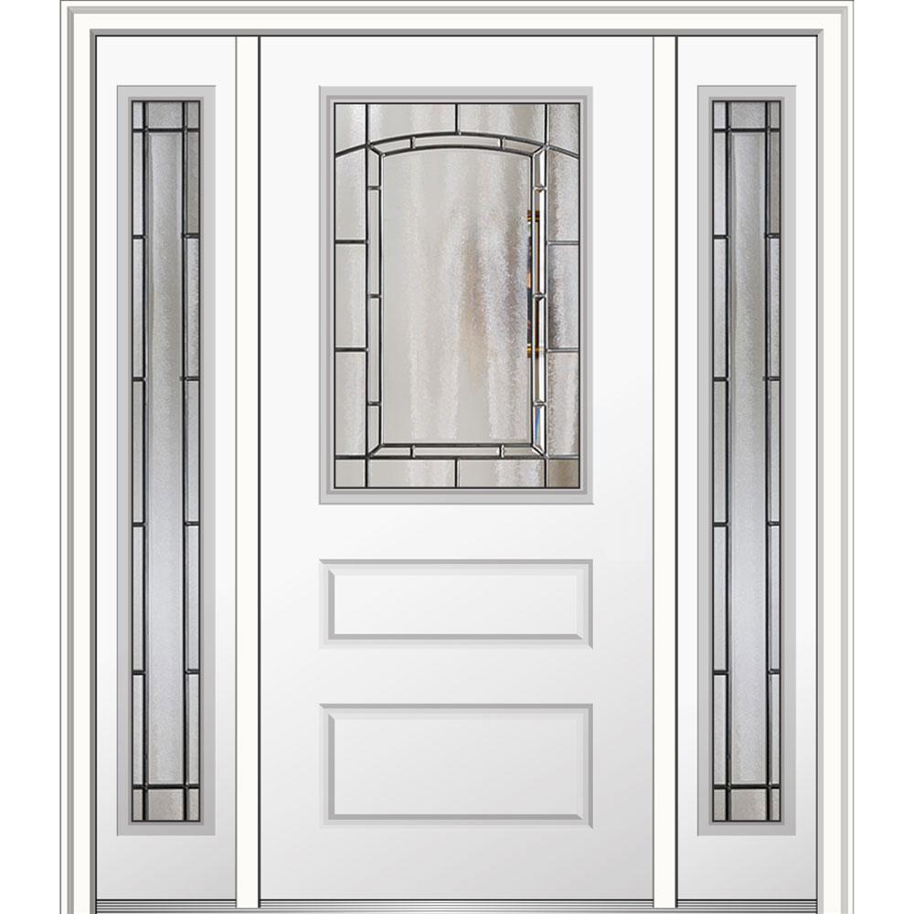 60 in x 80 in solstice left hand 12 lite - Exterior Fiberglass Doors