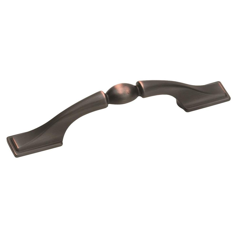Miraculous Amerock Sterling Traditions 3 In 76 Mm Center To Center Oil Rubbed Bronze Cabinet Drawer Pull Interior Design Ideas Tzicisoteloinfo
