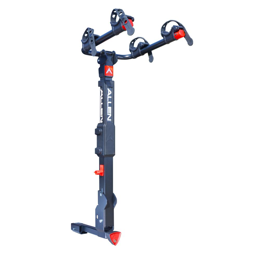 Allen Sports 70 lbs. Capacity Locking 2-Bike Vehicle 2 in. and 1.25 in. Hitch Premier Bike Rack