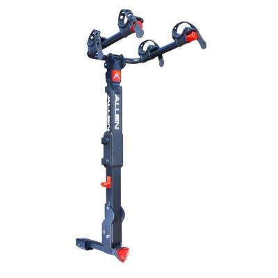 70 lbs. Capacity Locking 2-Bike Vehicle 2 in. and 1.25 in. Hitch Premier Bike Rack