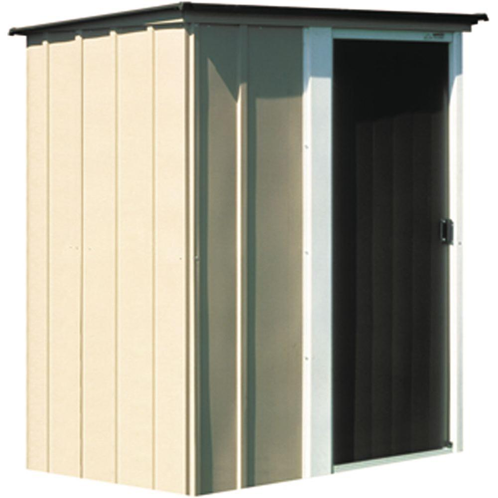 Arrow Bwood 5 Ft X 4 Metal Storage Building