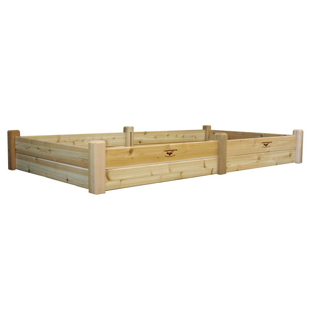 Gronomics 48 in. x 95 in. x 13 in. Raised Garden Bed