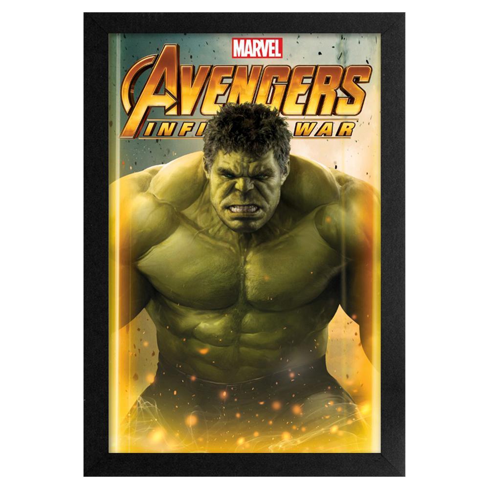 Avengers- Infinity War- Hulk 11x17 Framed Print