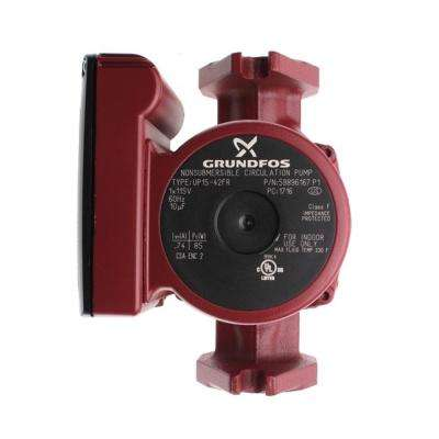 UP15-42FR 1/25 HP 115-Volt Rotated Flanged Circulator Pump