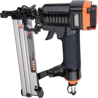 Pneumatic 18-Gauge 1-1/4 in. Narrow Crown Staple Finishing Nailer with Quick Jam Release