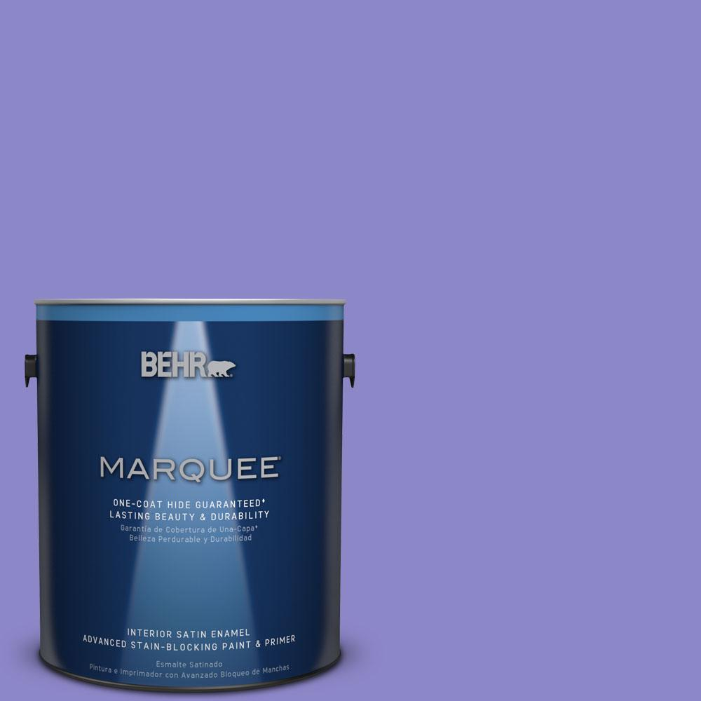 1 gal. #MQ4-29 Brocade One-Coat Hide Satin Enamel Interior Paint